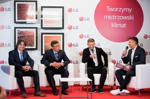Jakub Błaszczykowski ambasadorem produktow klimatyzacyjnych LG