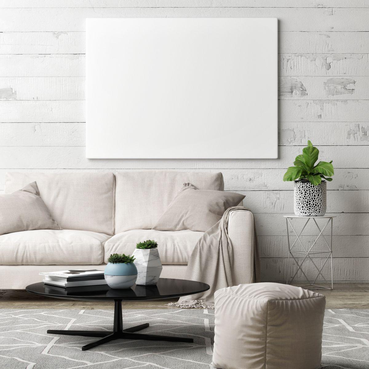 Bielone drewno na ścianie