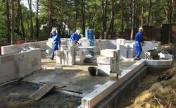 Budowa domu z betonu komórkowego