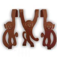 Wesołe małpki - wieszaki