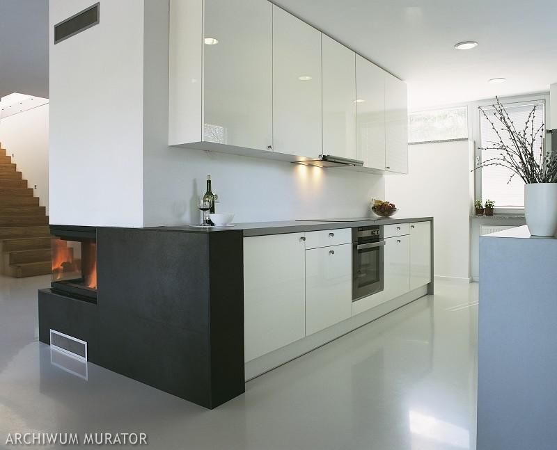Galeria zdjęć  Czarno biała kuchnia  nowoczesne aranżacje białych kuchni z   -> Kuchnia Dla Dzieci Czarkowska Iwona Chomikuj