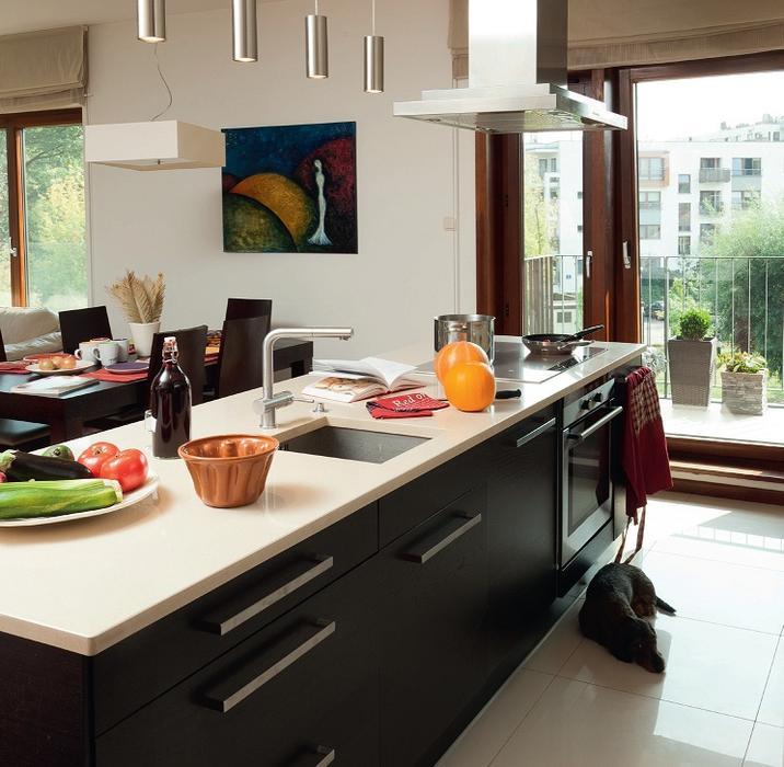 Galeria zdjęć  Kuchnia z wyspą  zdjęcie nr 1  Muratordom pl