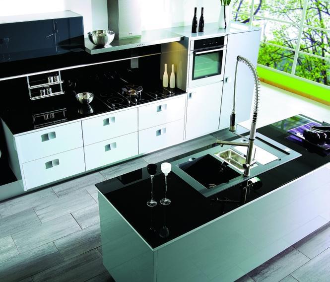 Centralne odkurzanie zapewni czystość wokół kuchennej wyspy