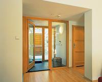 Szerokie drzwi rozwieralne