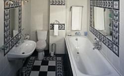 Strefy w łazience