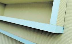 Polistyrenowe płyty budowlane. Płyty wodoodporne do zabudowy łazienki i nie tylko