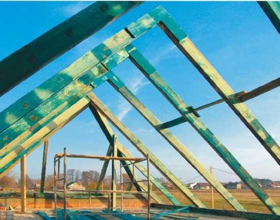 Budowa nowego dachu