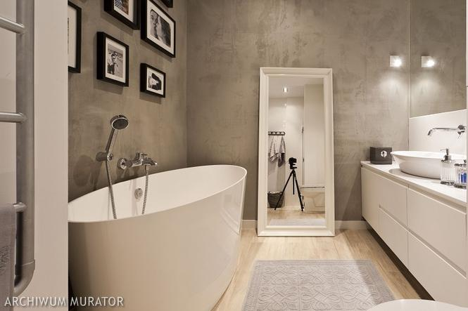 Beton w łazience