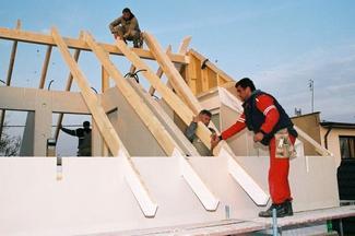 Więźba dachowa tradycyjna