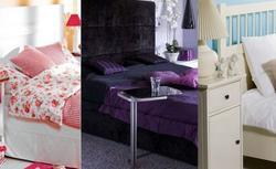 Sypialnie w 3 modnych stylach: romantyczna, glamour, naturalna