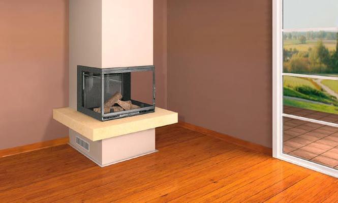 Podpowiadamy, do jakich wnętrz pasuje kominek minimalistyczny